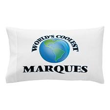 World's Coolest Marques Pillow Case