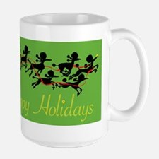 Poodle Holiday Mugs