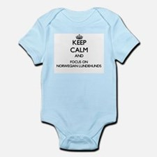 Keep calm and focus on Norwegian Lundehu Body Suit