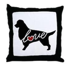 Irish Setter Love Throw Pillow