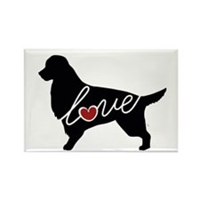 Irish Setter Love Rectangle Magnet