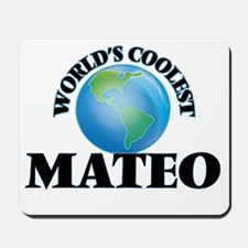 World's Coolest Mateo Mousepad
