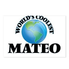 World's Coolest Mateo Postcards (Package of 8)