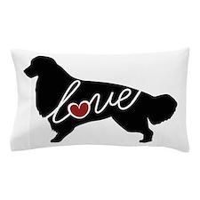 Golden Retriever Love Pillow Case