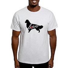 Golden Retriever Love T-Shirt