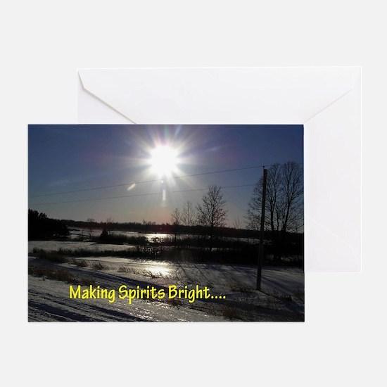Making Spirits Bright Greeting Cards