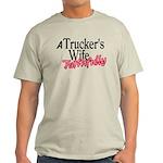 A Trucker's Wife - Faithfully Light T-Shirt