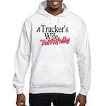 A Trucker's Wife - Faithfully Hooded Sweatshirt
