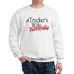 A Trucker's Wife - Faithfully Sweatshirt