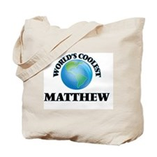 World's Coolest Matthew Tote Bag