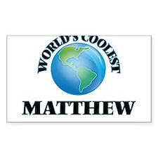 World's Coolest Matthew Decal