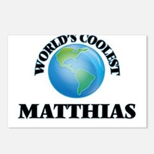 World's Coolest Matthias Postcards (Package of 8)