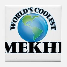 World's Coolest Mekhi Tile Coaster