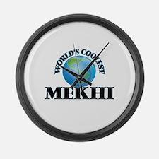World's Coolest Mekhi Large Wall Clock