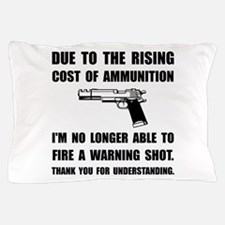 Ammunition Warning Shot Pillow Case