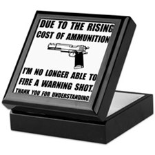 Ammunition Warning Shot Keepsake Box