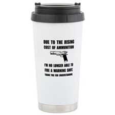 Ammunition Warning Shot Travel Mug