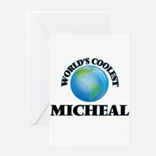World's Coolest Micheal Greeting Cards