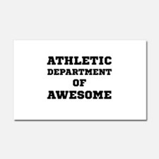 Athletic Department Awesome Car Magnet 20 x 12
