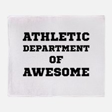 Athletic Department Awesome Throw Blanket