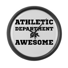 Athletic Department Awesome Large Wall Clock