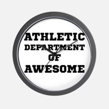 Athletic Department Awesome Wall Clock