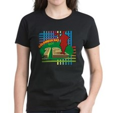 Colorful Columbus Day Tee