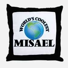World's Coolest Misael Throw Pillow