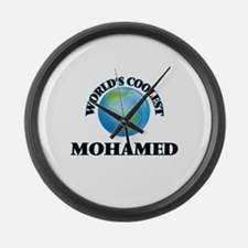 World's Coolest Mohamed Large Wall Clock