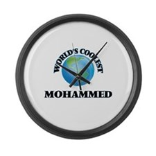 World's Coolest Mohammed Large Wall Clock