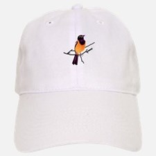 Baltimore Oriole on a Branch Baseball Baseball Cap