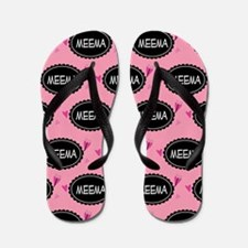 Meema Grandma Gift Flip Flops