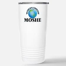 World's Coolest Moshe Stainless Steel Travel Mug