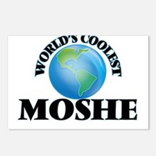 World's Coolest Moshe Postcards (Package of 8)