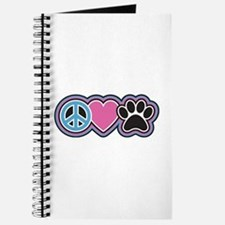 Peace Love Paws Journal