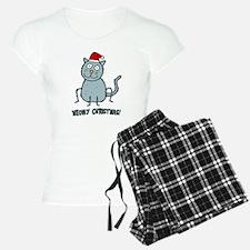 Meowy Christmas Christmas Cat Pajamas
