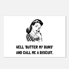Butter My Buns Postcards (Package of 8)