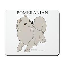 Cream Pomeranian Mousepad