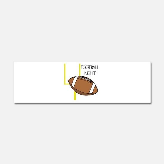 Football Night Car Magnet 10 x 3
