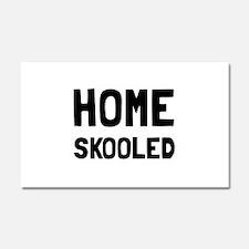 Home Skooled Car Magnet 20 x 12
