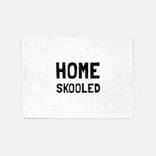 Home Skooled 5'x7'Area Rug