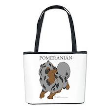 Blue Merle Pomeranian Bucket Bag