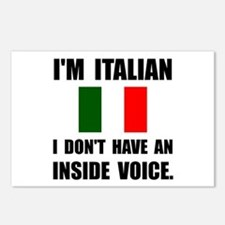 Italian Inside Voice Postcards (Package of 8)