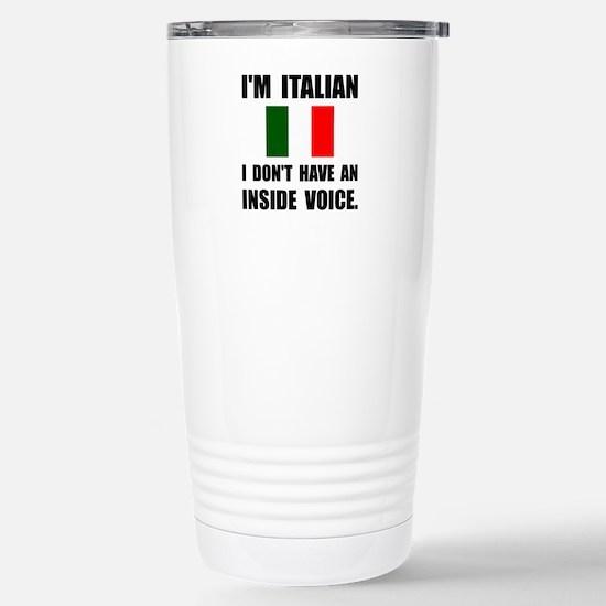 Italian Inside Voice Travel Mug