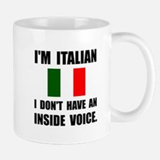 Italian Inside Voice Mugs