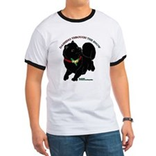 Black Pomeranian T-Shirt