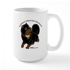 Black & Tan Pomeranian Mugs