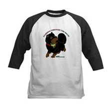 Black & Tan Pomeranian Baseball Jersey