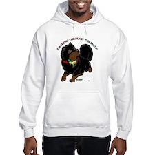 Black & Tan Pomeranian Hoodie