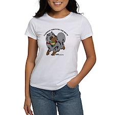 Blue Merle Pomeranian T-Shirt